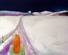 "Saatchi Online Artist Suzi Morris; Painting, ""Self Portrait"" #art"