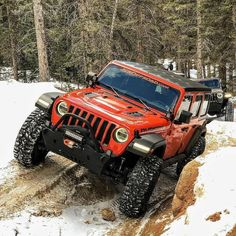 Save by Hermie Red Jeep, Jeep Jl, Jeep Truck, Jeep Wrangler Unlimited Lifted, Wrangler Jl, Badass Jeep, Samurai, Jeep Mods, Car Museum