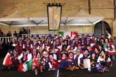 LECCE - TENZONE AUREA 2014 CAMPIONATO NAZIONALE SBANDIERATORI E MUSICI