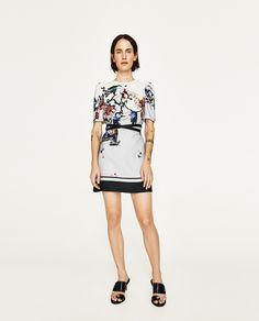 FLORAL PRINT DRESS   69.90 USD