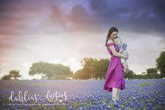 Dallas Family Photographer, bluebonnets, mother and son, 8 month old Dallas, 8 Month Olds, Blue Bonnets, Thunderstorms, Daisies, Family Photographer, Baby Kids, Beautiful, Design