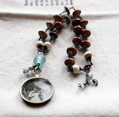 """Morning"" necklace by Rebecca Sower, via Flickr"