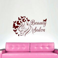 Wall Decals Hair Beauty Salon Decal Vinyl Sticker от CozyDecal