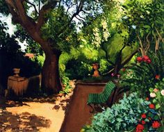 The Garden / Albert Marquet - circa 1945