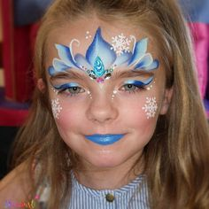 What do you think of this beautiful design by Nicola Patterson? Frozen Queen, Frozen Princess, Paint Supplies, Cosplay Characters, Face Painting Designs, Pearl Color, Face Art, Lilac, Body Art