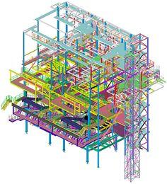 (via Steel structures for waste incinerator plant)