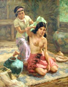 """Princess Urduja 1956: Fernando Amorsolo Y Cuento, is born on May 30, 1892 in Paco, Manila. He was married to Carmen Zaragoza, they are blessed with 14 children. Amorsolo earned a degree from Lieco De Manila Art School in 1909. He was recognized as """"Philippine National Artist for Painting"""" in 1972. He died on April 24, 1972 in Quezon City. He is one of """"The Greatest Filipino Painter"""" of all time."""