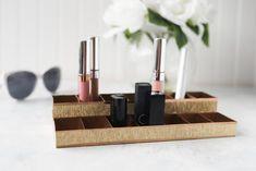 Dollar Store DIY Lipstick Organizer