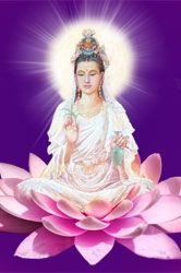 Meditate with the Lady Quan Yin and receive her blessings.