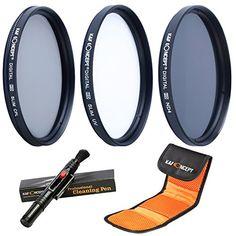 K&F Concept 52mm Slim UV CPL ND4 Filterset Objektiv Filter Set Schutzfilter Graufilter ND Farbfilter Neutrale Dichte 5 teiliges Kamera Filter Zubehör für Nikon D5300 D5200 D5100 D3300 D3200 D3100 DSLR Kamera + Reinigungspinsel + Filtertasche - http://kameras-kaufen.de/k-f-concept/k-f-concept-52mm-slim-uv-cpl-nd4-filterset-objektiv