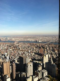 View from the Freedom Tower on November 14th, 2013