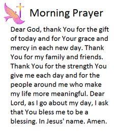 Prayer Scriptures, Bible Prayers, Catholic Prayers, Faith Prayer, Prayer Quotes, Bible Verses, Powerful Morning Prayer, Good Morning Prayer, Morning Prayers