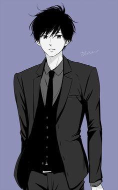 """harumatsubokura: """" """"まずスーツだけ…"""" - Anashin"""" Manga:Haru Matsu Bokura"""