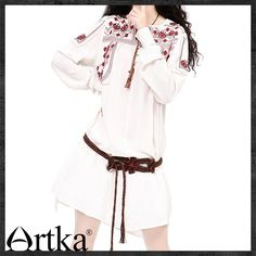 https://budgetfashionstore.com/reduced/products/artka-womens-autumn-newlook-ethnic-red-embroidery-tied-v-neck-comfy-linen-loose-medium-style-long-sleeve-blouse-sa10230q/