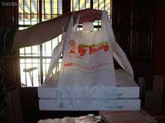 Bolsa original para llevar cajas de pizzas