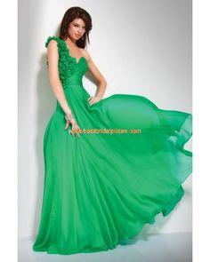 Robe de soiree verte pas cher