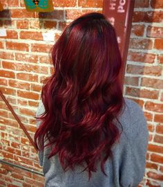 awesome 50 Prepossessing Dark Red Hair Ideas - The Graceful Redhead Hairdos Check more at http://newaylook.com/best-dark-red-hair-ideas/