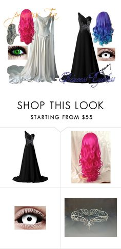 """Princess's stay together, or they go to war."" by eyeless-angel-of-death ❤ liked on Polyvore featuring TIARA"