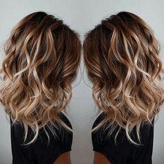 Medium Wavy Layered Hairstyles