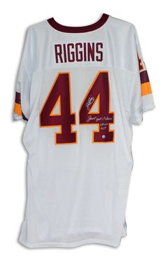 757add5d AAA Sports Memorabilia LLC - John Riggins Washington Redskins Autographed  White Jersey Inscribed