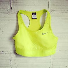Every girl needs the Pro Limitless Bra, a flattering fit with extra lift. Get one in every color. #gear #nike