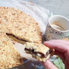 Crostata+sbriciolata+alla+nutella