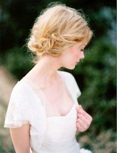 Jolie princesse pour le jour de mariage