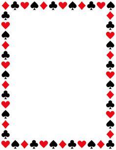 Card Suit Border