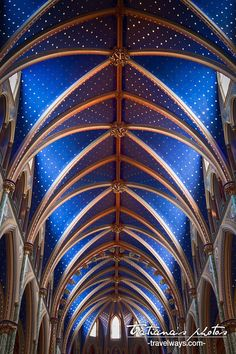Ceiling of St. Mary's Cathedral, Ottawa - Best viewed in a larger format for details. Photography Contests, World Photography, Fine Art Photography, Amazing Photography, St Patrick's Basilica, Cathedral Architecture, Camera Art, Romanesque, Beautiful Buildings