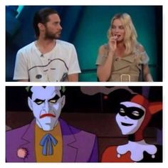 Jared Leto & Margot Robbie | Harley Quinn & The Joker