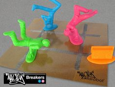 Some Plastic Men Join the Army, Some Breakdance via @Incredible Things