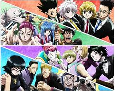York New City Arc : Gon Freecs, Killua Zoldyck , Kurapika Kurta, Leorio Paradiknight , Melody 'Senritsu' Baise , Neon Nostrade , Dalzollene , Hisoka, Shalnark, Pakunoda, Feitan, Shizuku, Nobunaga Hazama, Phinks, Franklin . Jeez You Can Have It, Just Wanna Share (*눈_눈*)