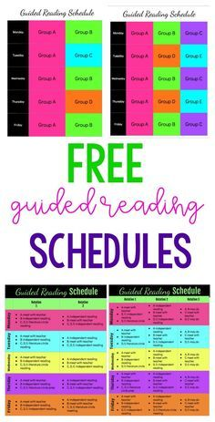 Grab a FREE template for guided reading schedules. These schedules are all compl… Grab a FREE template for guided reading schedules. These schedules are all completely editable! Guided Reading Organization, Guided Reading Activities, Guided Reading Lessons, Guided Reading Groups, Reading Resources, Reading Skills, Teaching Reading, Reading Strategies, Guided Reading Template