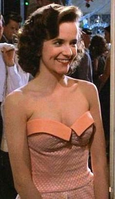 Back to the Future 1: the enchantment under the sea. Lorraine's dress.