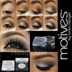 Metallic Makeup Tutorial with Motives by Hello Fritzie