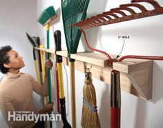 McCoy's Building Supply has the lumber and tools you need.....to organize all your lumber and tools. www.mccoys.com