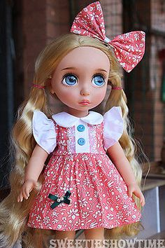 Disney-Baby-doll-clothes-vintage-dress-clothing-Animators-collection-Princess