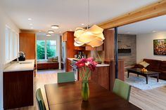 modern dining room lighting - Google Search