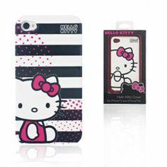 Hello Kitty Carcasa Iphone 4S Rayas