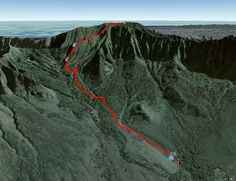 Hike Mount Ka'ala in Waianae - 4025ft in elevation....you go do that, let me know how that works out for you!