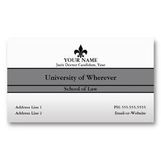 23 best law student business cards images on pinterest business law student business card cheaphphosting Choice Image