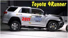 Фронтальный краш тест 2011 Toyota 4Runner - новый фронтальный краш-тест лобового столкновения автомобиля toyota 4runner 2011 с фиксированным барьером и небольшим перекрытием 25% со стороны водителя на скорости 64 км/ч с пассажирами для оценки рейтинга безопасности водителя и пассажиров по европейским стандартам Euro NCAP.