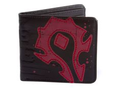 J!NX : World of Warcraft Horde Crest Leather Wallet
