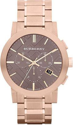 Burberry Rose Gold Bracelet Watch, 42mm