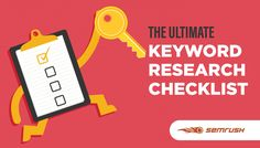 This checklist offers a straightforward process that anyone can use to start building master lists of target keywords in any market or niche. Use this approach on SEMrush to find valuable keywords for your SEO and PPC campaigns.
