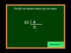 Matemática Zero - Aula 4 - Divisão - Terceira Parte