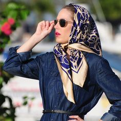 Mother's Day Silk Scarf available in Classic Square Silk Collection
