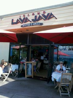 Island Lava Java Bistro & Grill, home of the best nachos, burgers, breakfast, and Kona coffee!  So in other words, everything here is delicious.  It is definitely a restaurant to put on your list of places to go.