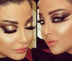 Makeup by Samer Khouzami Beauty Makeup, Hair Makeup, Hair Beauty, Makeup Eyes, Beauty Stuff, Makeup Stuff, Makeup Art, Cleopatra Beauty Secrets, Cleopatra Makeup
