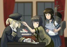 The Art of – Fascist Anime Natalia Poklonskaya, Anime Art Girl, Manga Art, Manga Anime, Anime Military, Military Girl, Military Archives, Guerra Anime, Girls Frontline
